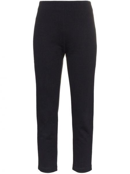 Облегающие укороченные брюки с поясом A_plan_application