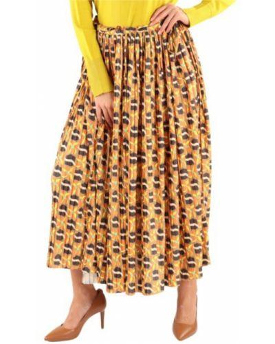 Żółta długa spódnica Maliparmi