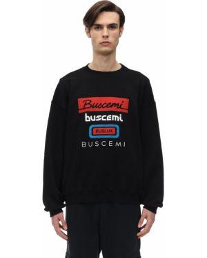 Czarna bluza bawełniana oversize Buscemi