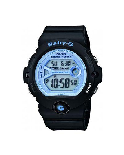 Часы с подсветкой с круглым циферблатом Casio