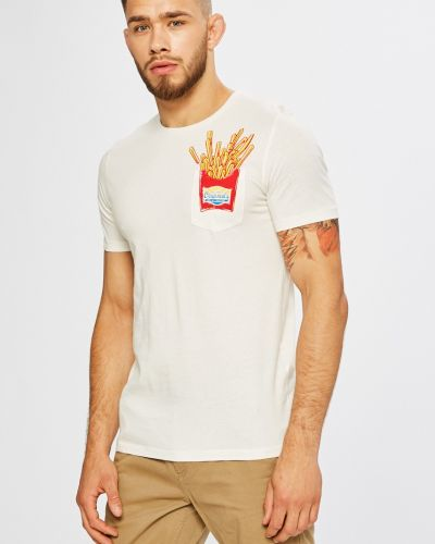 Бежевая футболка Jack & Jones