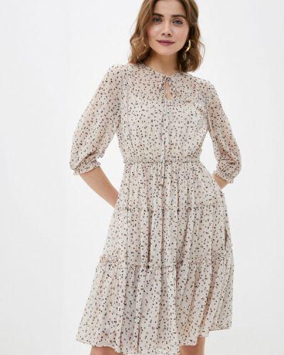 Платье - бежевое Lusio