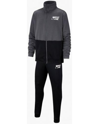 Спортивный костюм черный серый Nike