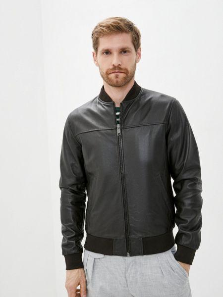 Кожаная куртка коричневый Urban Fashion For Men