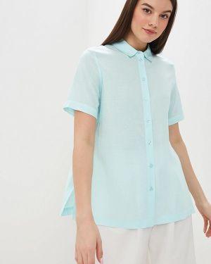 Рубашка с коротким рукавом бирюзовый Baon