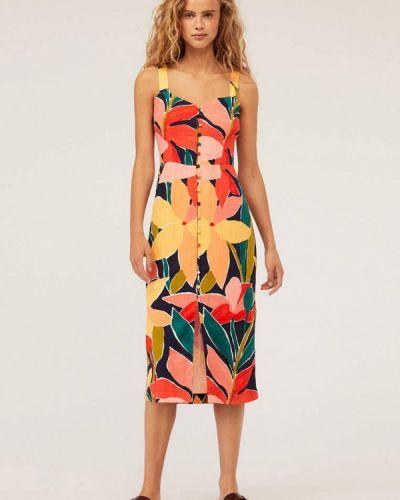 Платье прямое осеннее Oysho