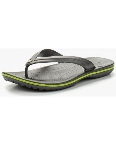 Шлепанцы серые Crocs
