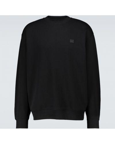 Czarna bluza bawełniana Acne Studios
