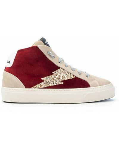 Czerwone sneakersy Stokton
