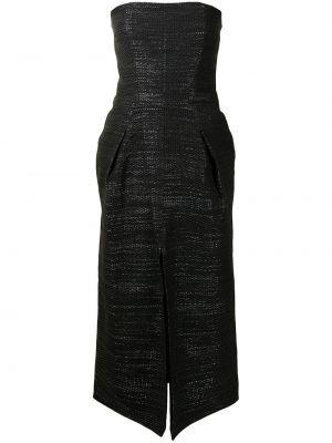 Czarna sukienka bawełniana Maticevski