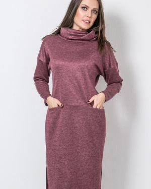 Теплое платье платье-сарафан прямое Modellos