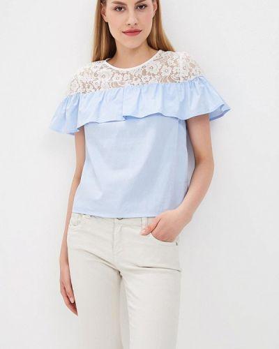 Голубая блузка Jennyfer