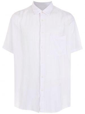 Biała koszula krótki rękaw Osklen