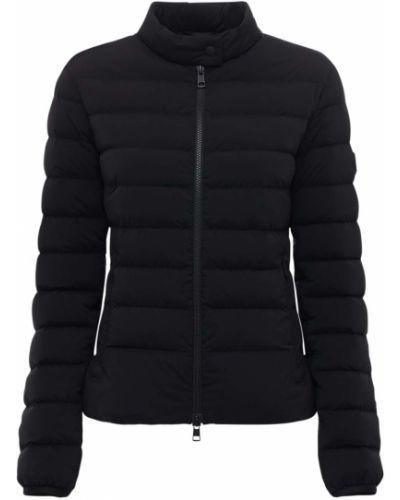 Силиконовая куртка с аппликациями с завязками Moncler