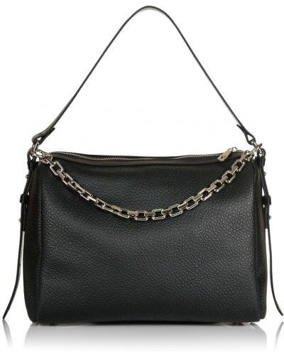 Кожаная сумка - черная Valiente