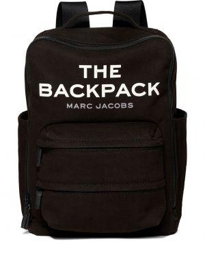 Plecak bawełniany - czarny Marc Jacobs
