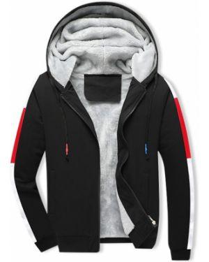 Плюшевая с кулиской куртка с капюшоном Zaful