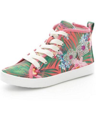 Zielone wysoki sneakersy Lelli Kelly