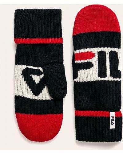 Перчатки текстильные акриловые Fila