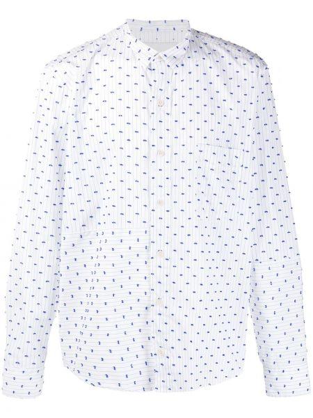 Koszula z długim rękawem klasyczna z paskami Henrik Vibskov