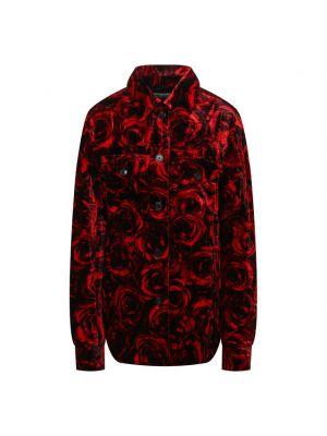 Хлопковая куртка - красная Dries Van Noten