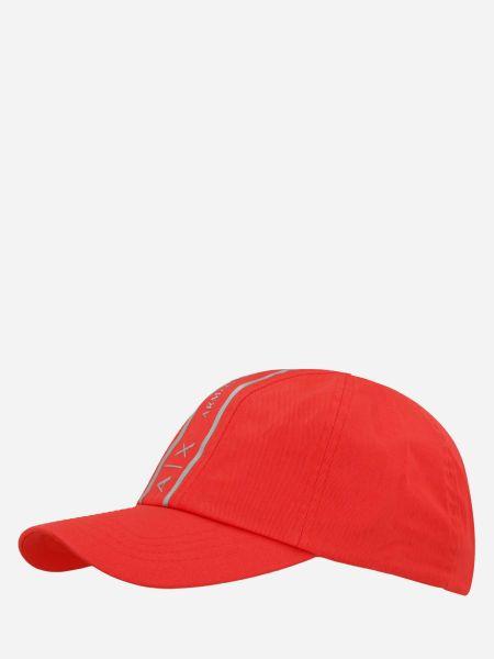 Оранжевая кепка Armani Exchange