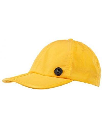 Pomarańczowa czapka z daszkiem Bogner