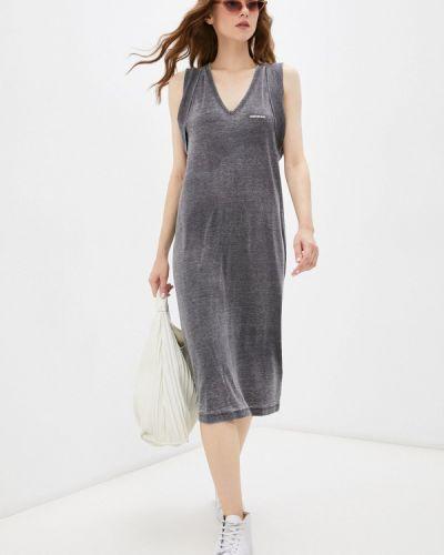 Джинсовое платье - серое Calvin Klein Jeans