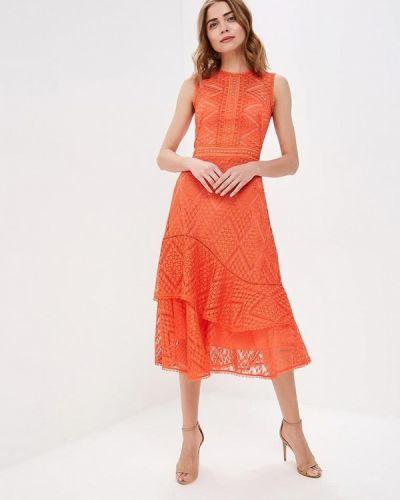 Платье - оранжевое Karen Millen