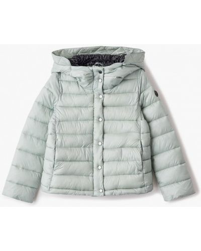 Свободная бирюзовая теплая куртка Finn Flare