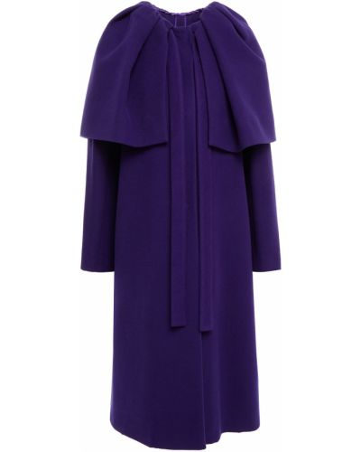 Narzutka wełniana - fioletowa Dolce And Gabbana