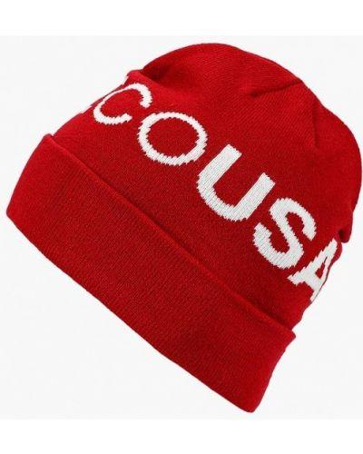 Красная шапка осенняя Dc Shoes