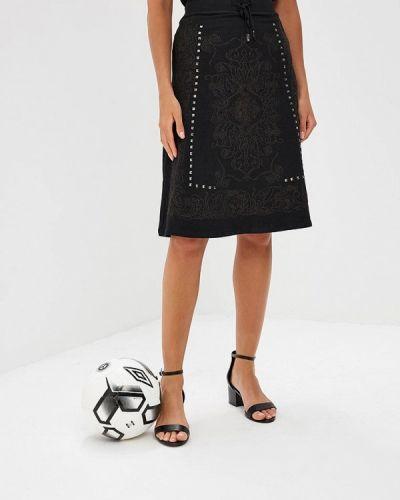 Юбка черная Custo Barcelona