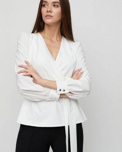Белая блузка с длинными рукавами Cardo