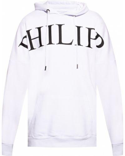 Biała bluza z printem Philipp Plein