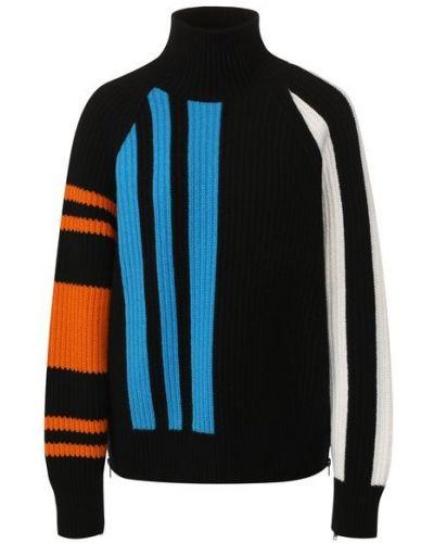 Свободные шерстяной свитер с воротником свободного кроя Mrz