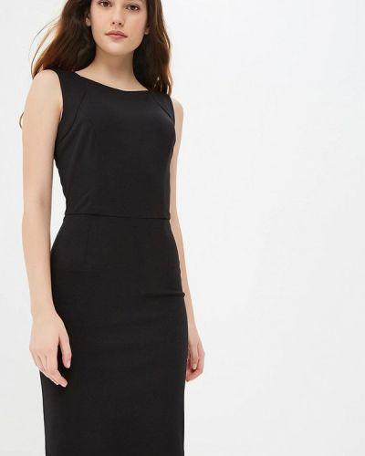 Платье осеннее черное Gorchica