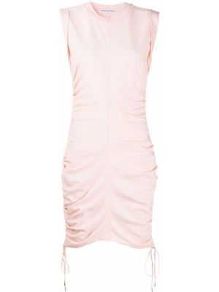 Платье розовое с рукавами T By Alexander Wang