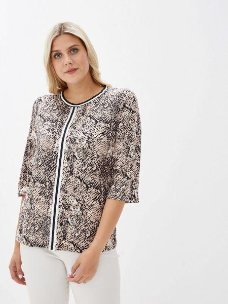 Блузка с длинным рукавом осенняя бежевый Milanika