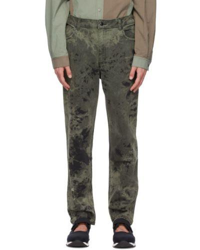 Черные джинсы стрейч Eckhaus Latta