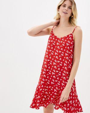 Платье платье-сарафан красный Pieces