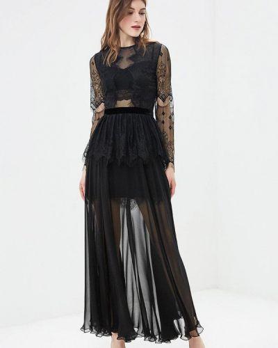 Вечернее платье черное Ksenia Knyazeva