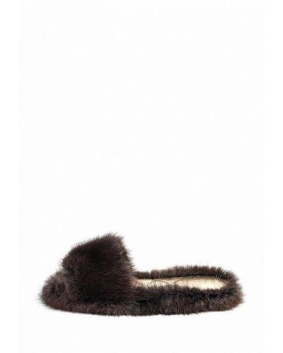 Домашние тапочки коричневый Litvin