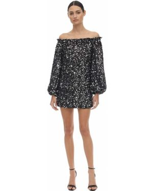 Платье мини с пайетками макси Rotate