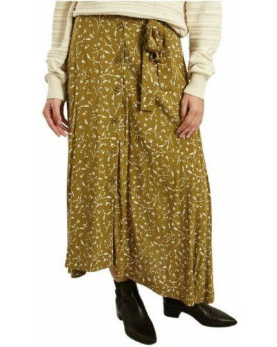 Długa spódnica - zielona Samsoe Samsoe