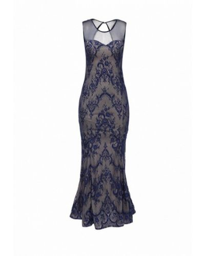 Вечернее платье синее Stella Morgan