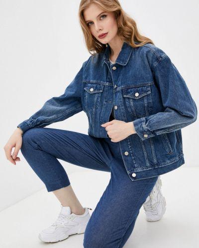 Синяя джинсовая куртка Gap