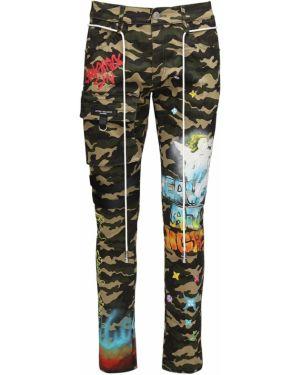 Spodnie bawełniane z paskiem ciążowe Lifted Anchors