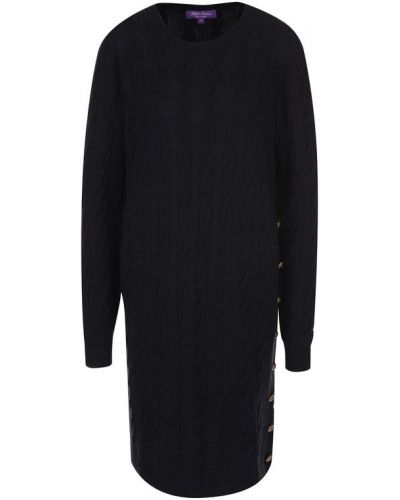 Платье вязаное с вырезом Ralph Lauren