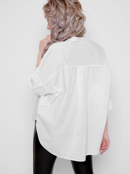 Рубашка с коротким рукавом - белая Braska